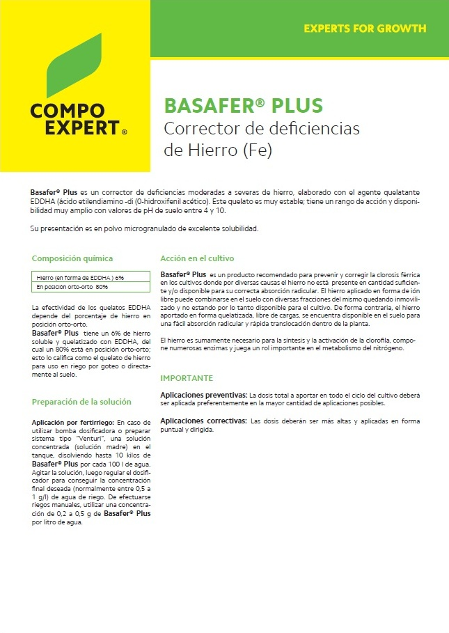Agroenfoque - Basafer® Plus
