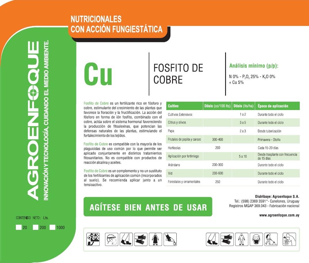 Agroenfoque - Fosfito de Cobre