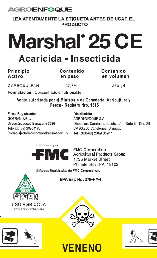 Agroenfoque - Marshal® 25 CE